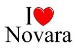 I Love (Heart) Novara, Italy