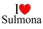 I Love (Heart) Sulmona, Italy