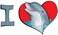 I heart dolphins