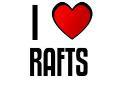 I LOVE RAFTS