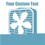 CUSTOM TEXT Fan