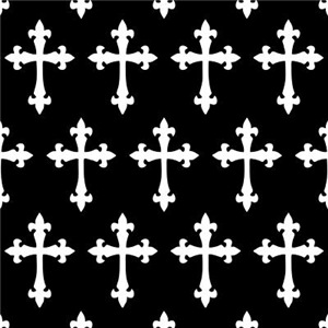 Gothic Crosses Pattern