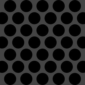 Oversize Black Dots