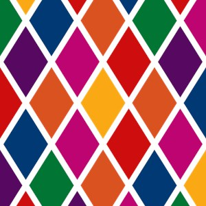 Colorful Harlequin Pattern