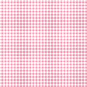 Pink Gingham Pattern