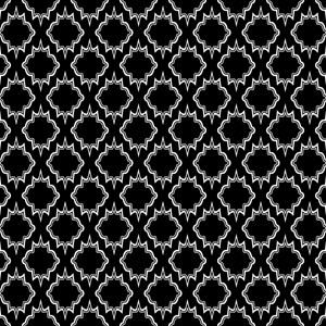 Gothic Black Tile Pattern
