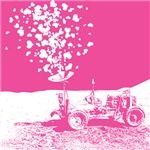 Pink Lunar Rover of Love T-shirts