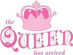 The Queen Has Arrived T-shirts