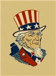 Retro Uncle Sam T-shirts
