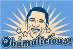 Retro Obamalicious T-shirts