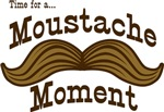 Moustache Moment T-shirts & Gifts