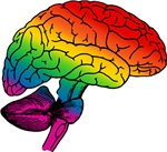 Rainbow Brain T-shirts & Gifts