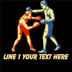 CUSTOM TEXT Retro Boxers