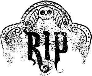 Halloween Tombstone RIP