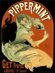 Pippermint Vintage Drink Art