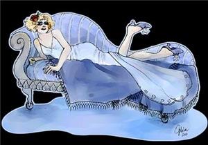 Flapper In Blue