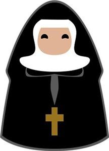 Cute Nun
