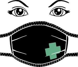 Gothic Medical Mask
