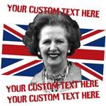 CUSTOM TEXT Thatcher UK