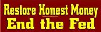 Restore Honest Money
