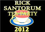 2012 rick santorum tea party