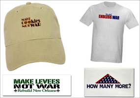 ANTI-WAR T-SHIRTS, STICKERS AND GIFTS