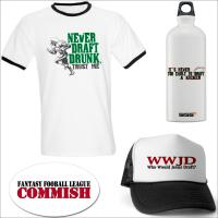 Fantasy Football League Draft Shirts, Mugs & Hats
