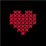 Cross Stitch Valentine