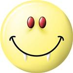 Vampire Smiley Face