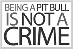 Pit Bull Not Crime