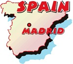 Spain Map T-Shirts