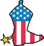 American Boot T-Shirts