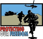 Protecting Our Freedom T-Shirts