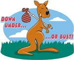 Down Under or Bust T-Shirts