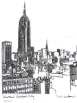 New York Paintings and Drawings by RD Riccoboni