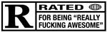 Rated R for being awesome