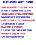 Ten reasons to swim - Male