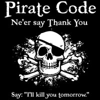 Pirate Thank You
