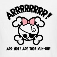 Arrr! Not...