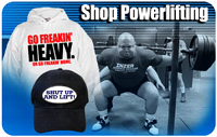 Powerlifting T-Shirts & Gifts
