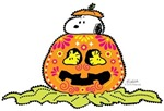 Day of the Dead Snoopy Pumpkin
