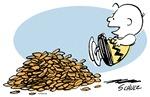 Charlie Brown Fall Leaves