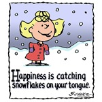 Happiness is...Snowflakes