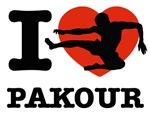 I love Pakour