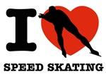 I love Speed skating