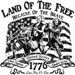 Land of the Free - Monochrome