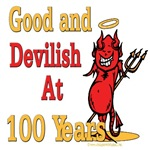 Devilish at 100