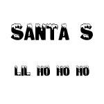 Santa's Lil Ho