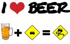 Beer + car