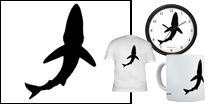 Signature Blue Shark Logo